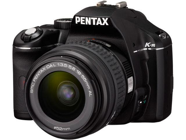PENTAX K-m ダブルズームキット の製品画像
