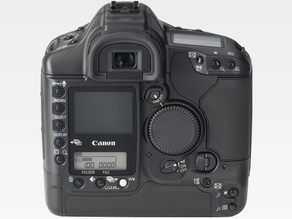 『本体 背面』 EOS-1Ds Mark II ボディ の製品画像