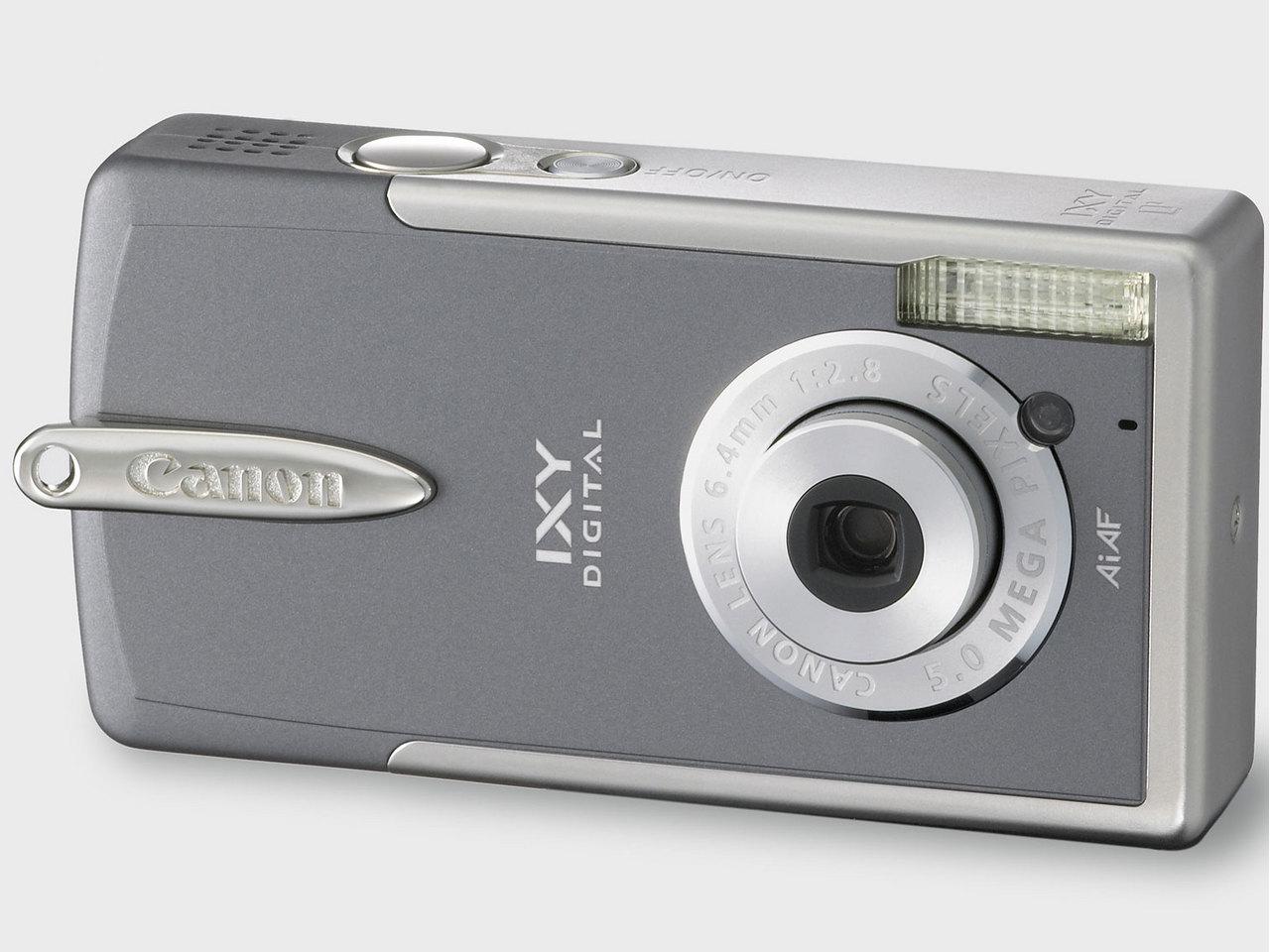 『本体 正面 フランネルグレー』 IXY DIGITAL L2 の製品画像