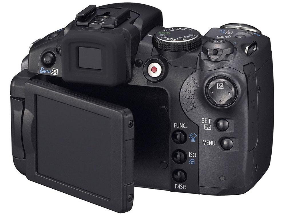 『本体 背面』 PowerShot S5 IS の製品画像