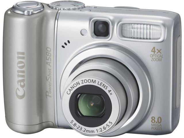 PowerShot A580 の製品画像