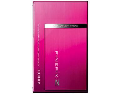 『本体 正面 縦置き ピンク』 FinePix Z100fd の製品画像