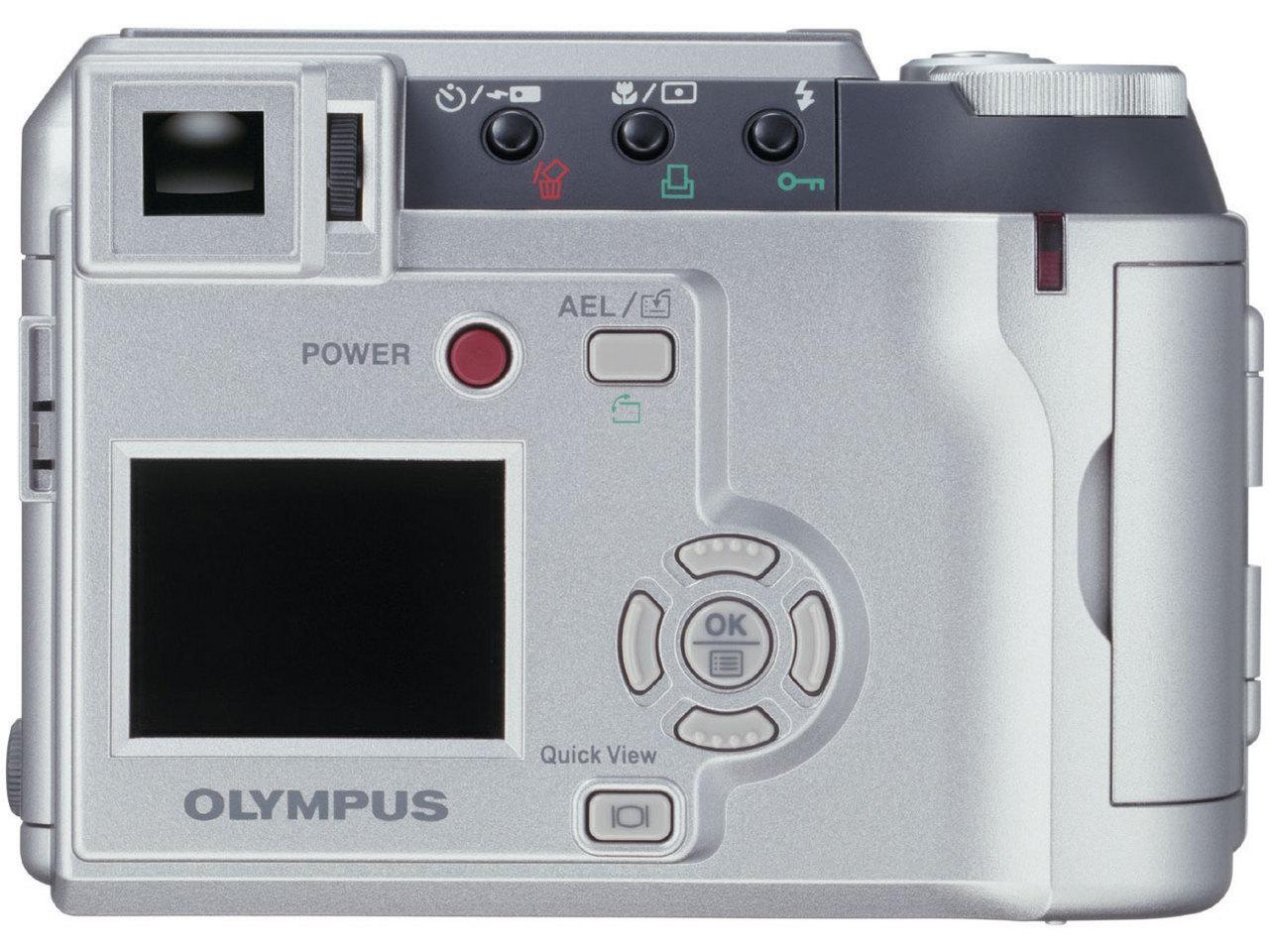 『本体 背面2』 CAMEDIA C-730 Ultra Zoom の製品画像