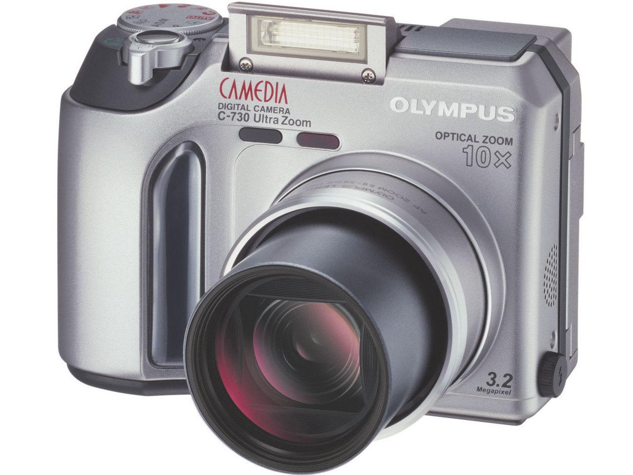 『本体 正面3』 CAMEDIA C-730 Ultra Zoom の製品画像