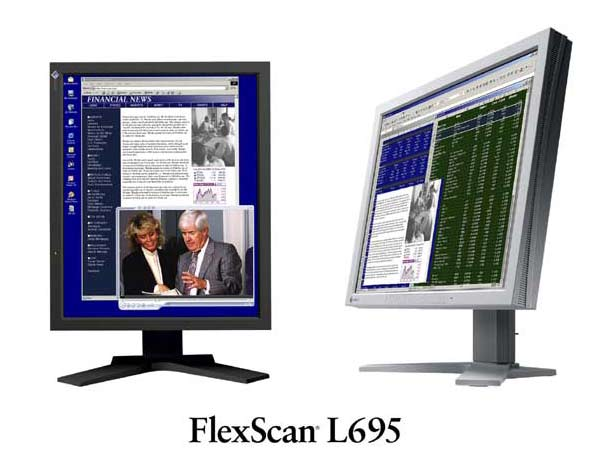 FlexScan L695-BK [18.1インチ] の製品画像
