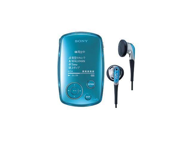 NW-A1000 (ブルー) の製品画像