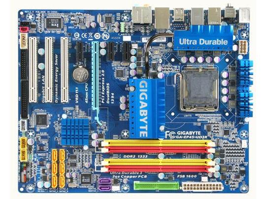 GA-EP45-UD3R Rev.1.0 の製品画像