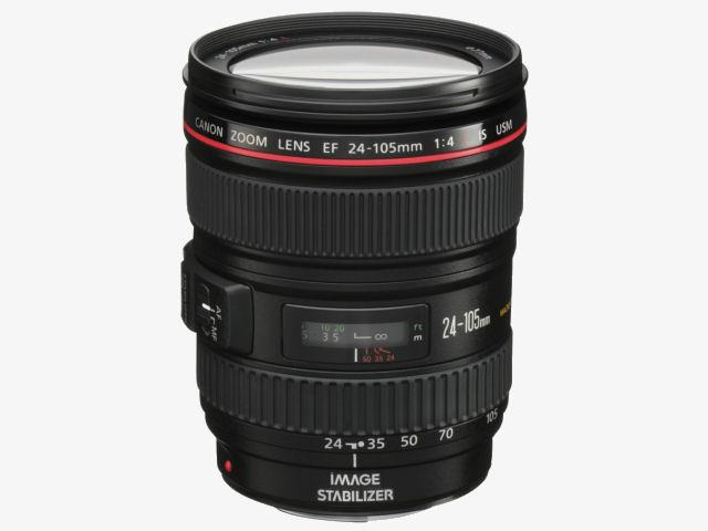 EF24-105mm F4L IS USM の製品画像