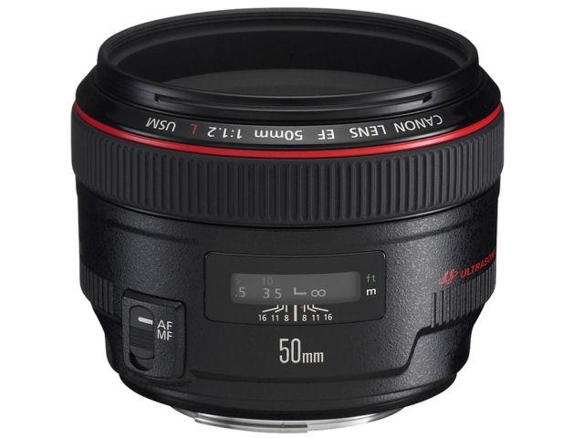 EF50mm F1.2L USM の製品画像