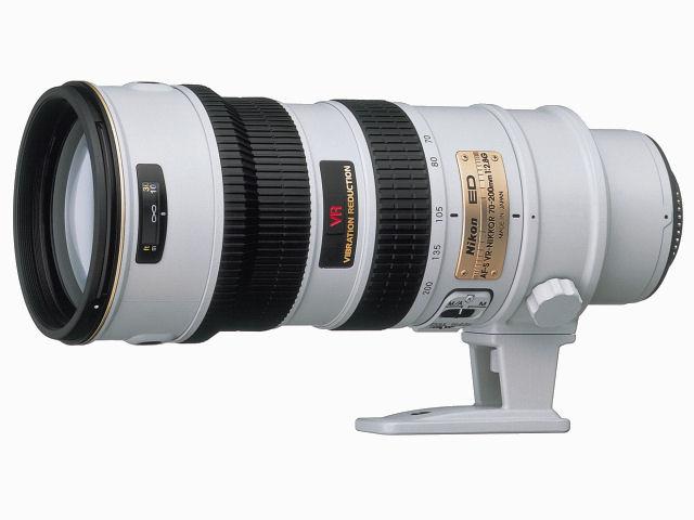 AF-S VR Zoom-Nikkor ED 70-200mm F2.8G(IF) [ライトグレー] の製品画像
