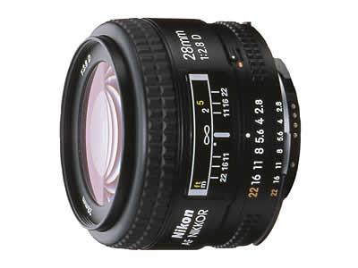 Ai AF Nikkor 28mm f/2.8D の製品画像