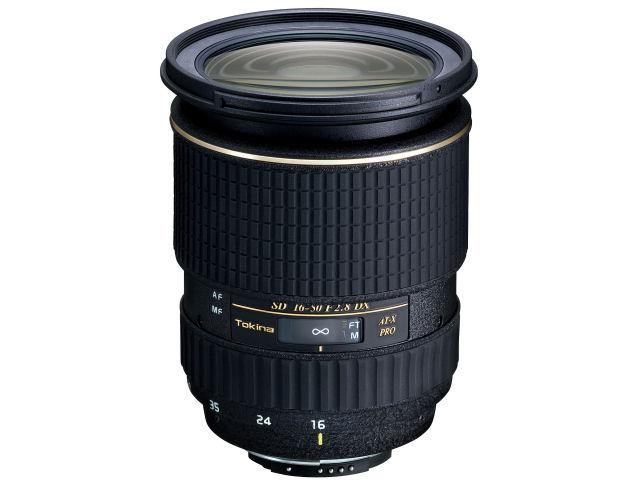 AT-X 165 PRO DX 16-50mm F2.8 (ニコン用) の製品画像