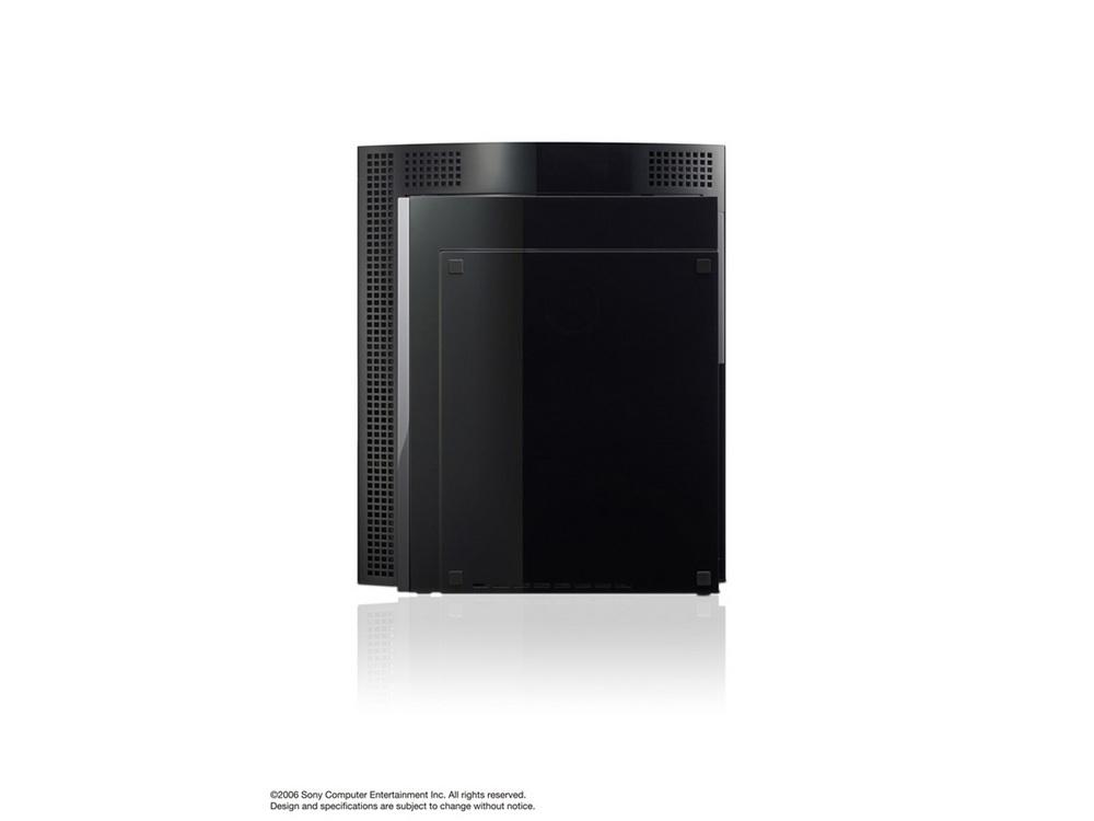 『本体 縦置き 右側面』 プレイステーション3 HDD 60GB の製品画像