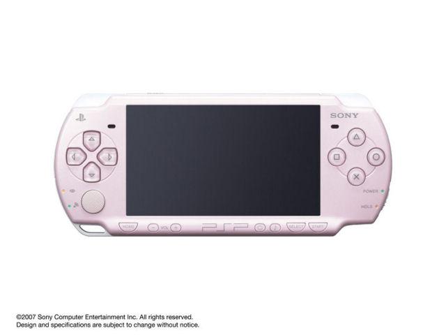 PSP プレイステーション・ポータブル ローズ・ピンク PSP-2000 RP の製品画像