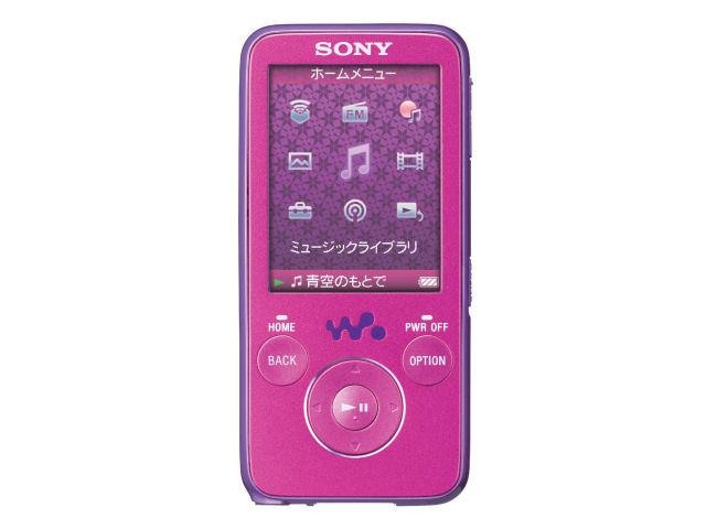 NW-S636F [4GB] の製品画像