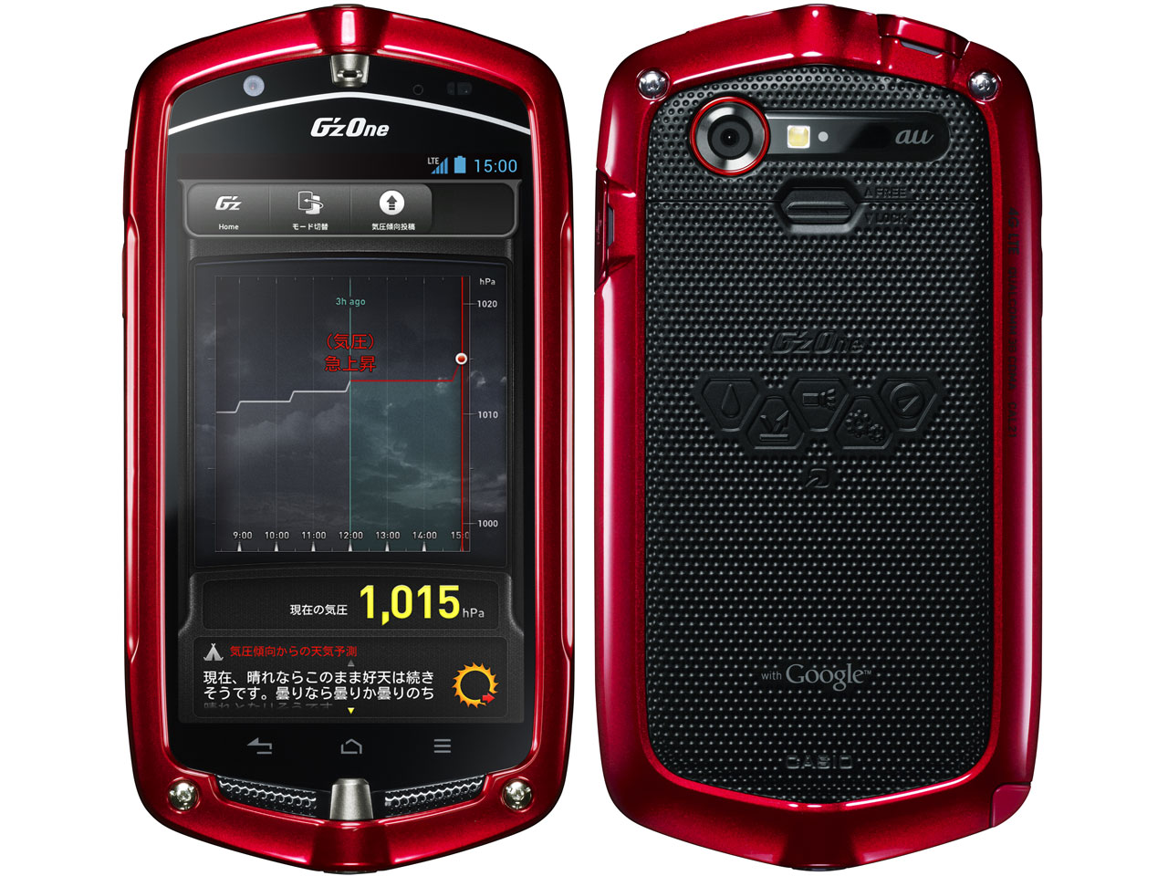 G'zOne TYPE-L CAL21 au の製品画像