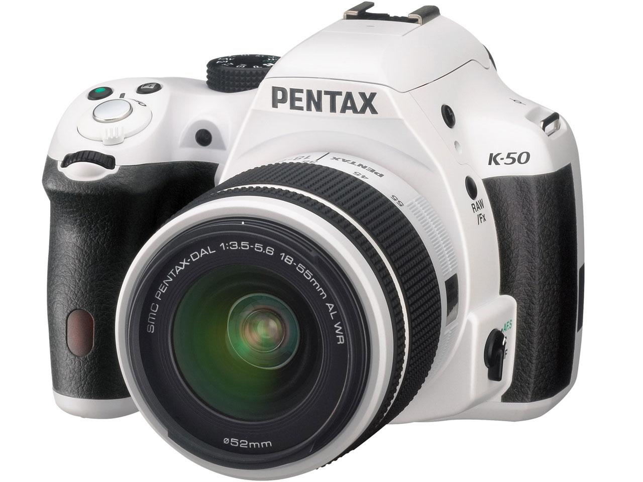 PENTAX K-50 ダブルズームキット の製品画像