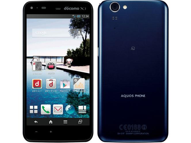 シャープ AQUOS PHONE ZETA SH-01F 製品画像