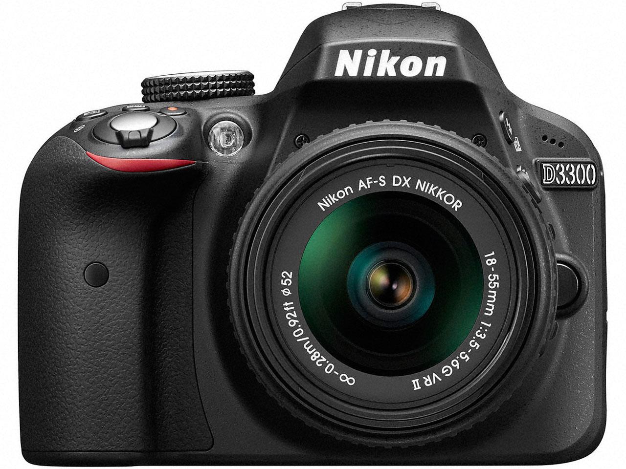 D3300 18-55 VRII レンズキット の製品画像