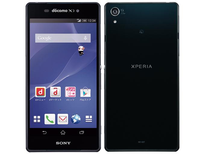 ソニーモバイルコミュニケーションズ Xperia Z2 製品画像