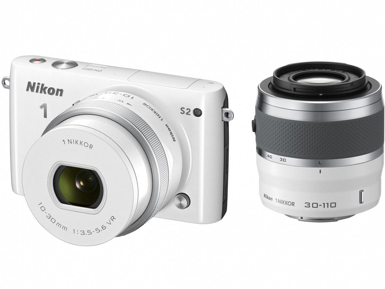Nikon 1 S2 ダブルズームキット の製品画像