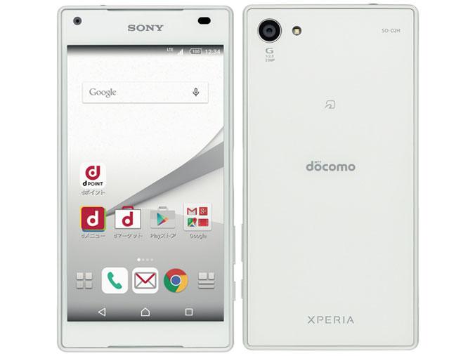 ソニーモバイルコミュニケーションズ Xperia Z5 Compact 製品画像