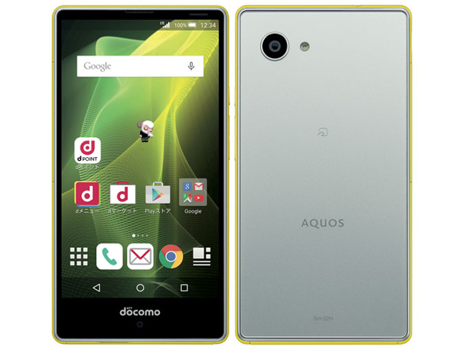 AQUOS Compact Snapdragon 808 MSM8992 1.8GHz 6コア