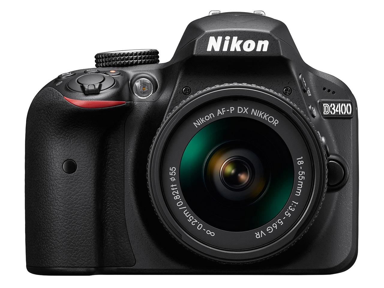 D3400 18-55 VR レンズキット の製品画像