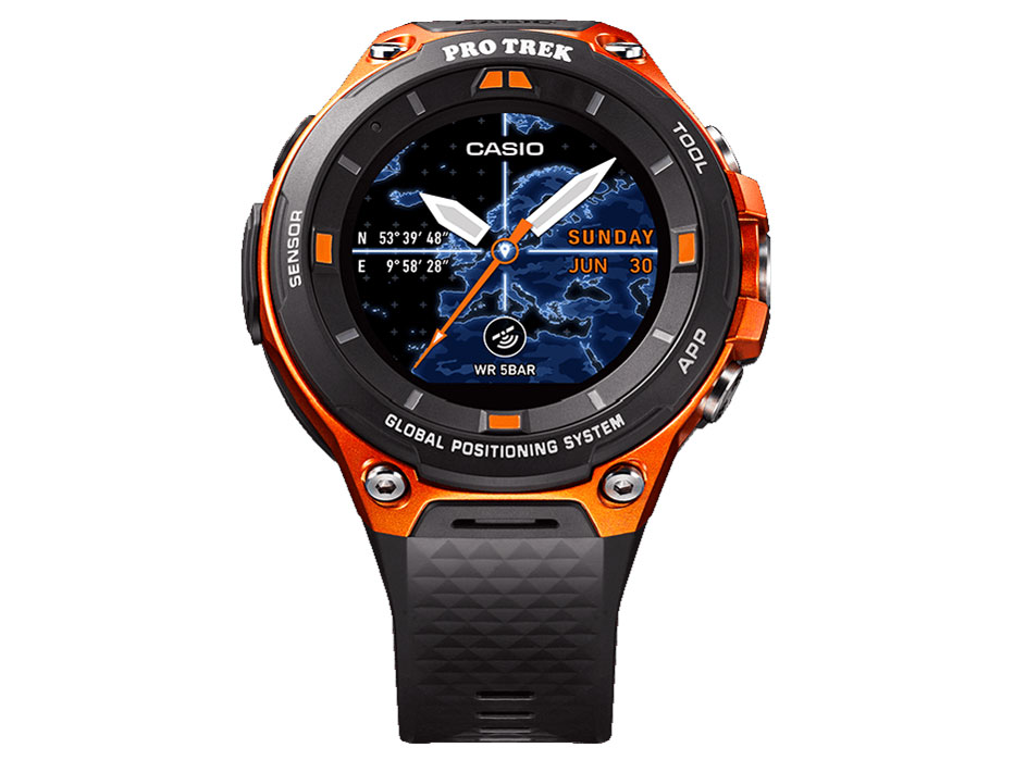 Smart Outdoor Watch PRO TREK Smart WSD-F20 の製品画像