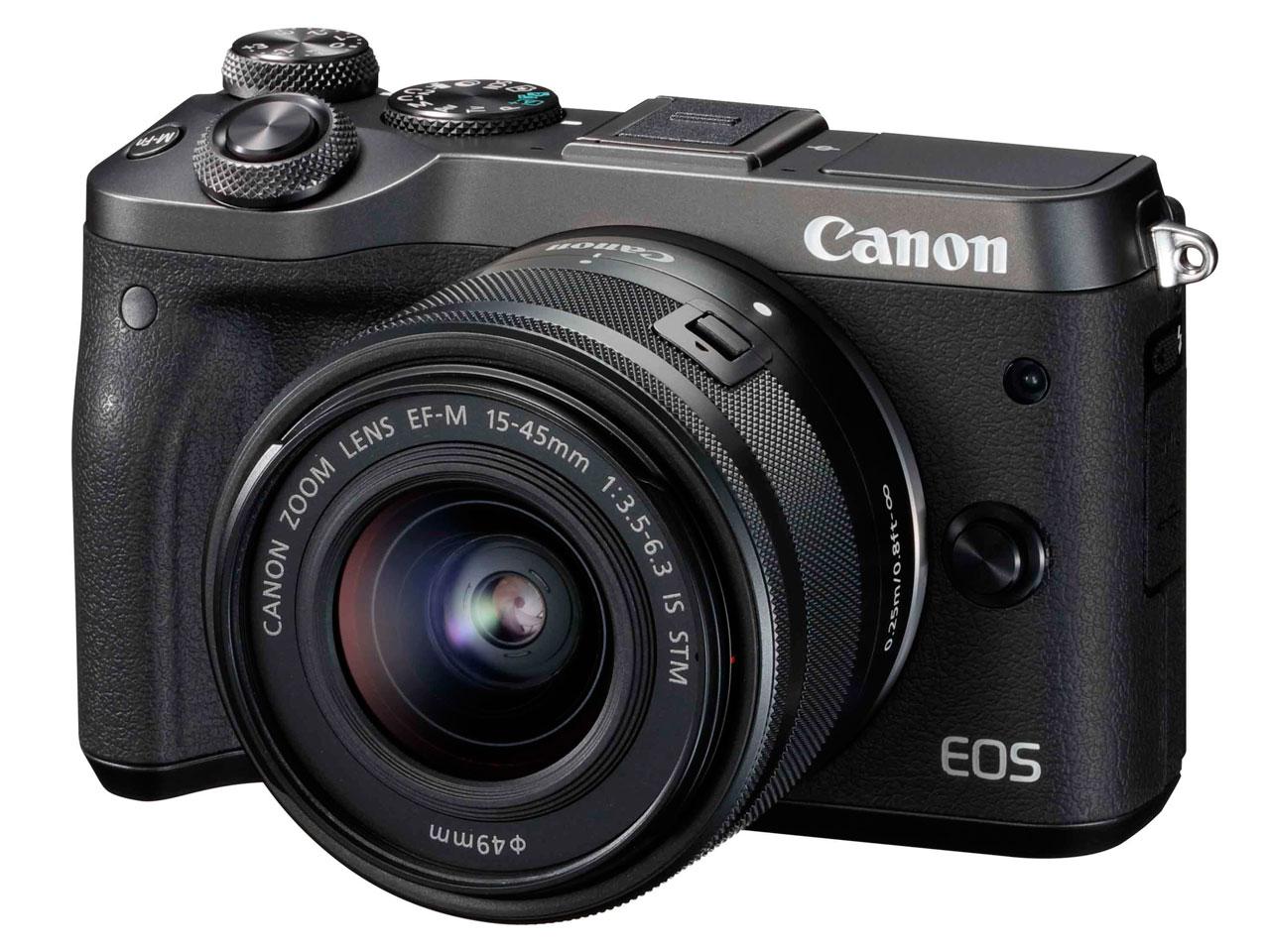 EOS M6 EF-M15-45 IS STM レンズキット の製品画像