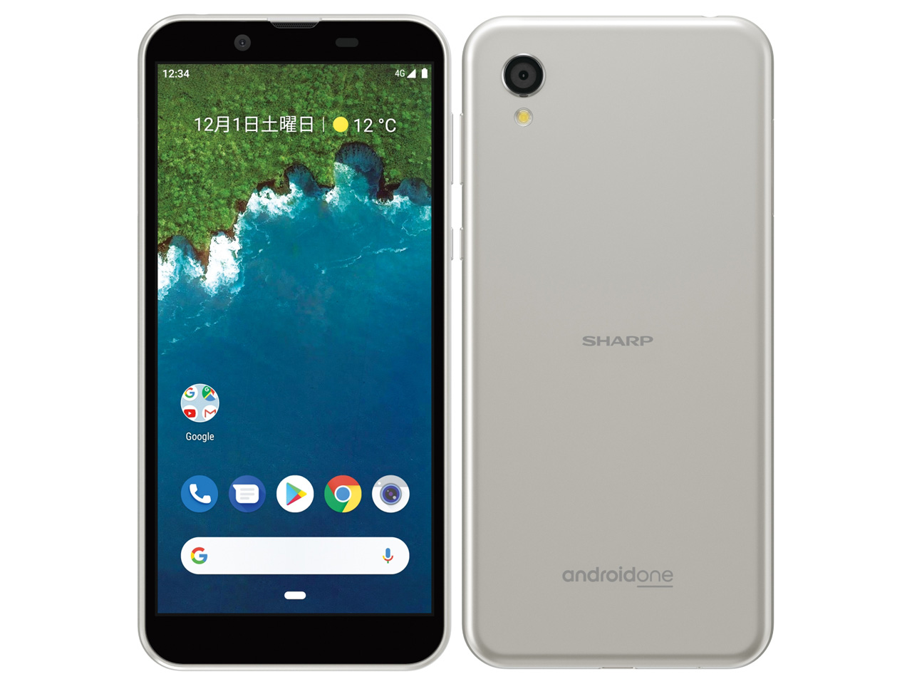 シャープ Android One S5 製品画像