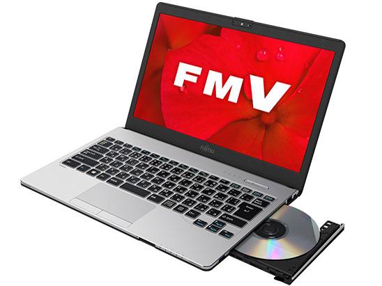 FMV LIFEBOOK SHシリーズ WS1/D2 KC_WS1D2 Core i7・メモリ8GB・SSD 256GB・Blu-ray・Office搭載モデル の製品画像