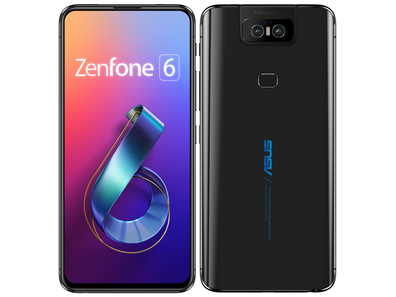 ASUS ZenFone 6 製品画像