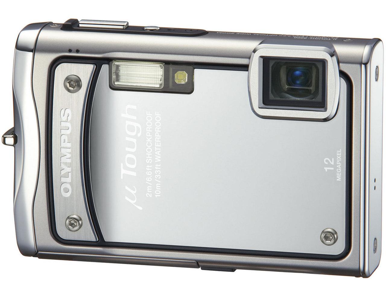 『本体 正面 シルバー』 μ TOUGH-8000 の製品画像