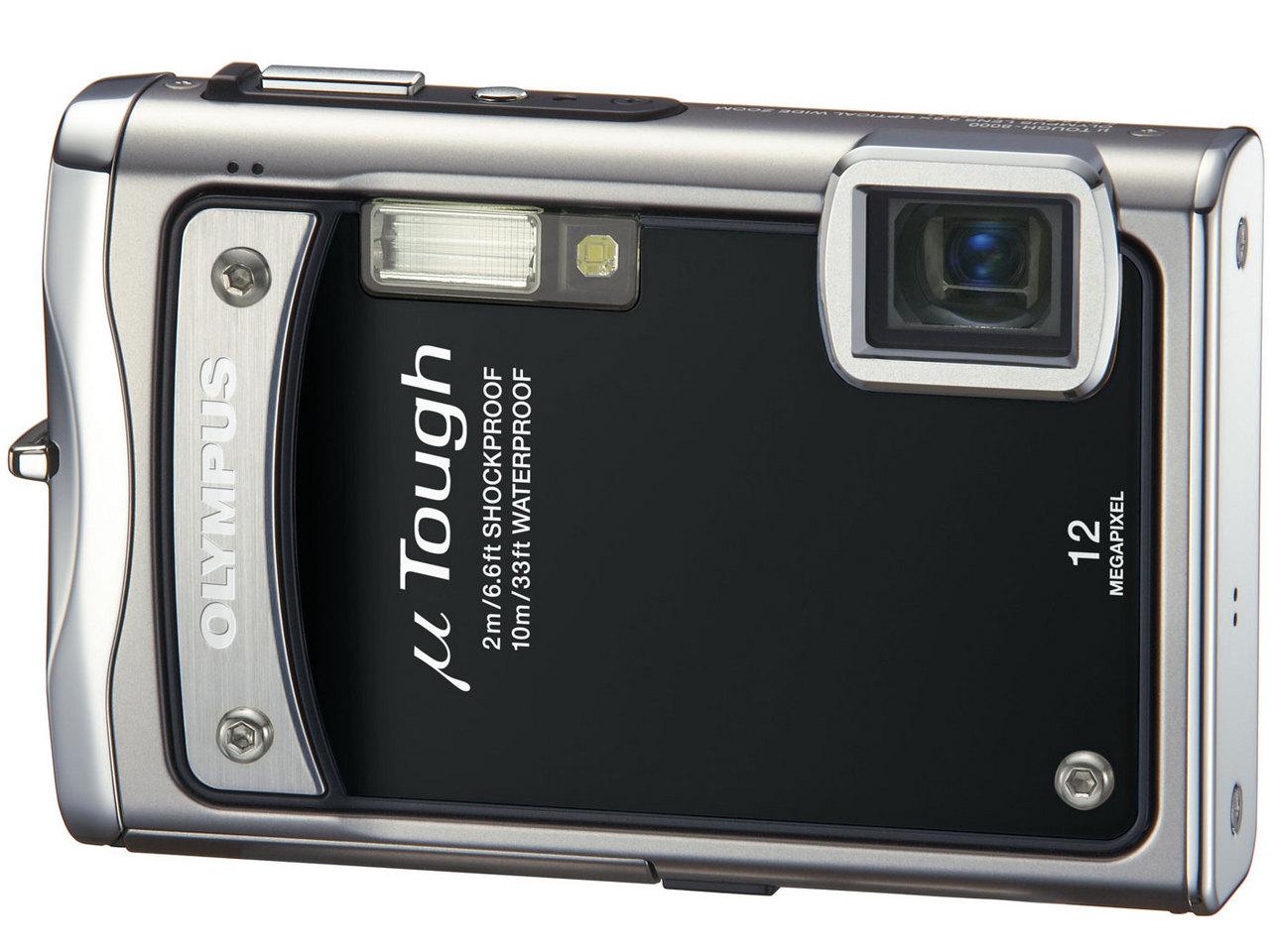 『本体 正面2 ブラック』 μ TOUGH-8000 の製品画像