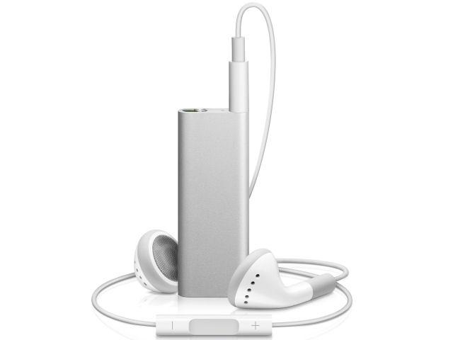 iPod shuffle MB867J/A シルバー (4GB) の製品画像