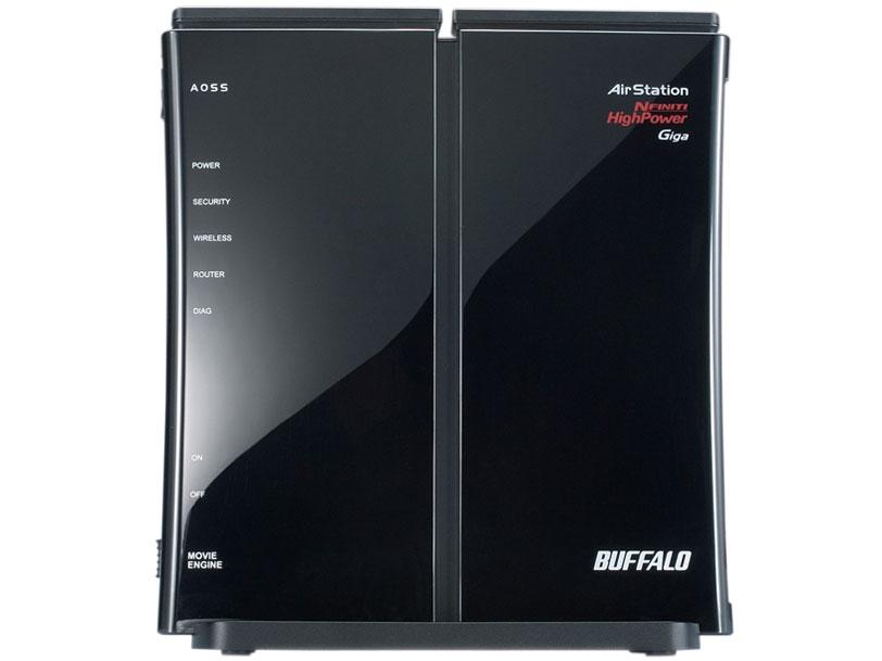 『本体 右側面1』 AirStation NFINITI HighPower Giga WZR-HP-G300NH の製品画像