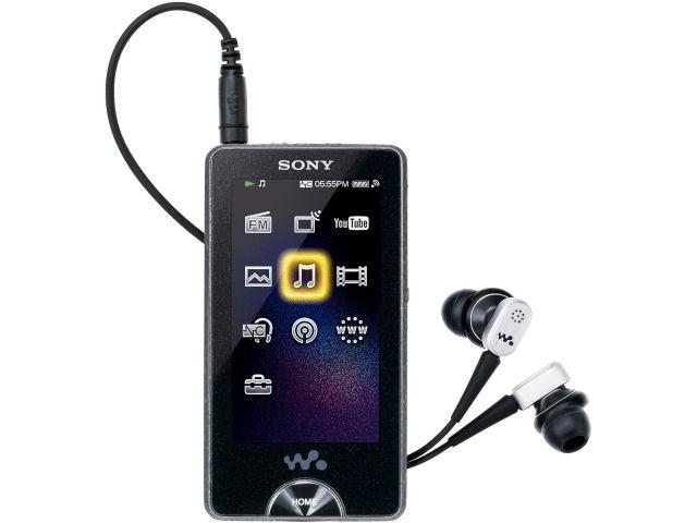 NW-X1050 ブラック (16GB) の製品画像
