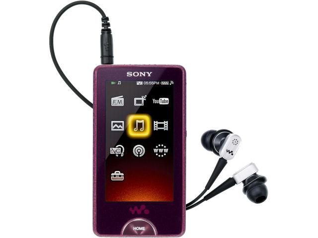 NW-X1050 レッド (16GB) の製品画像