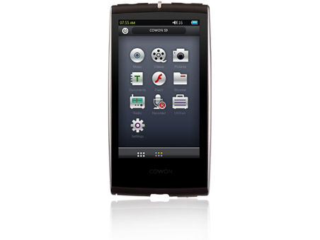 COWON S9 S9-32G-TB の製品画像