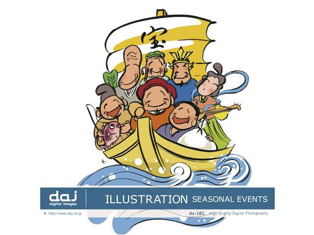 写真素材 DAJ digital images 181 ILLUSTRATION SEASONAL EVENTS [イラストシリーズ〜日本の行事、風物] の製品画像