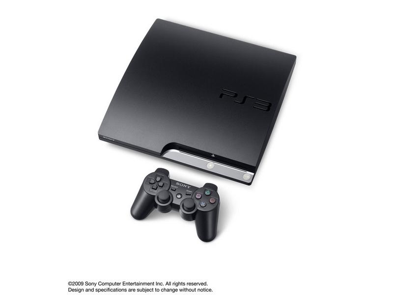 『本体 横置き 斜め3』 プレイステーション3 HDD 120GB チャコール・ブラック CECH-2000A の製品画像