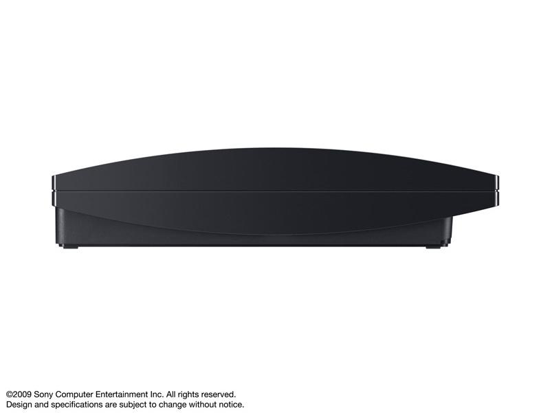 『本体 横置き 右側面』 プレイステーション3 HDD 120GB チャコール・ブラック CECH-2000A の製品画像