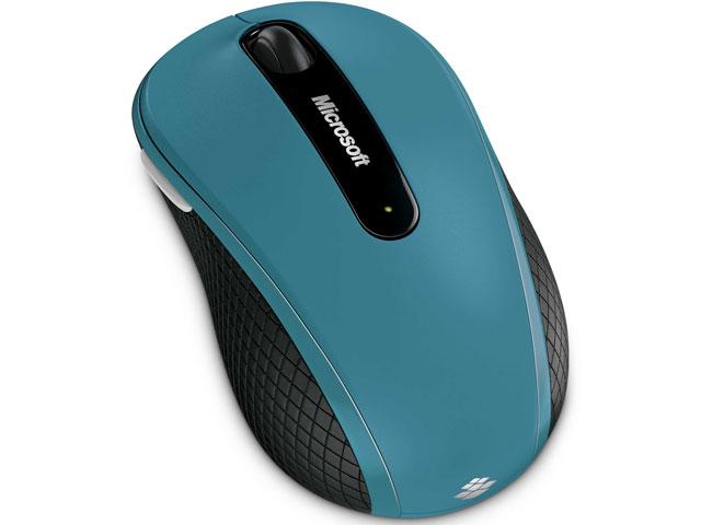 Wireless Mobile Mouse 4000 D5D-00017 (アクアブルー) の製品画像