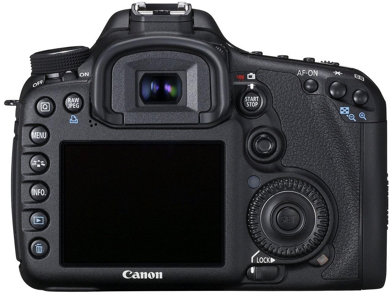 『本体 背面』 EOS 7D ボディ の製品画像