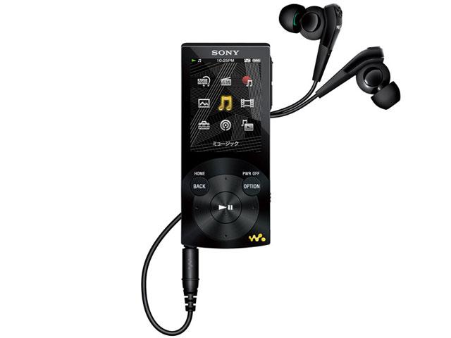NW-S745 ブラック (16GB) の製品画像