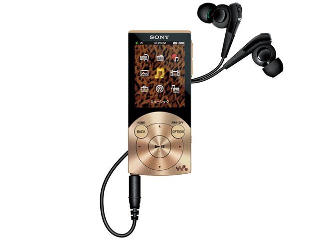 NW-S745 ゴールド (16GB) の製品画像