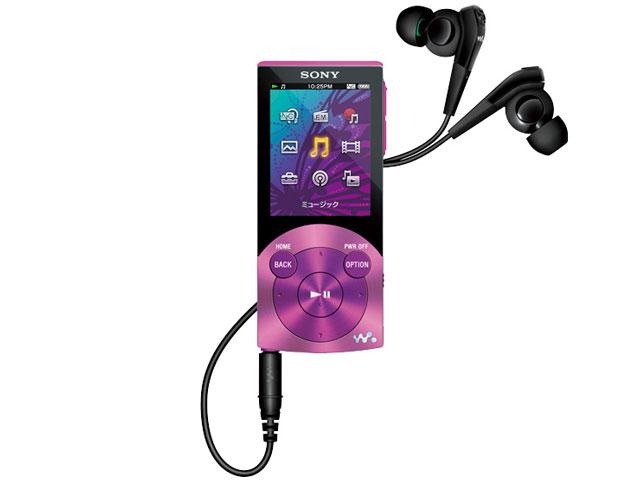 NW-S745 バイオレット (16GB) の製品画像