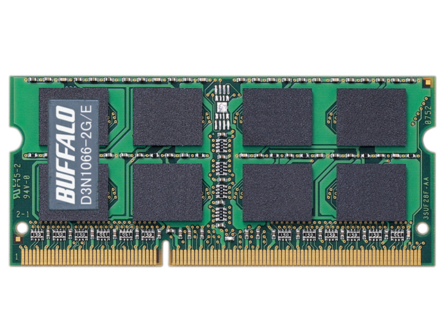 D3N1066-2G/E (SODIMM DDR3 PC3-8500 2GB) の製品画像