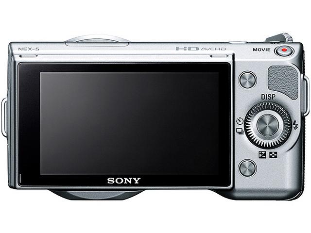 『本体 背面 シルバー』 α NEX-5A 薄型広角レンズキット の製品画像